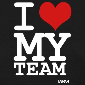 Black i love my team by wam Women's T-Shirts - Women's T-Shirt
