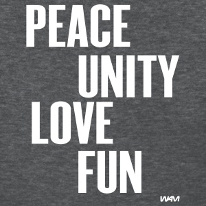 peace unity love fun( zulu nation ) by wam T-shirts (manches courtes) - T-shirt pour femmes