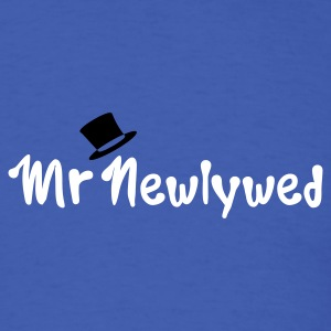 Royal blue Mr Newlywed T-Shirts - Men's T-Shirt