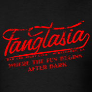 Design ~ Vintage FANGTASIA WHERE THE FUN BEGINS AFTER DARK T-Shirt