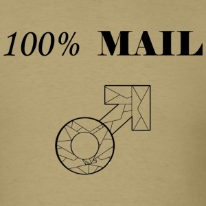 100% MAIL - Men's T-Shirt