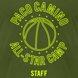 Olive paco camino all star staff T-Shirts - Men's T-Shirt by American Apparel