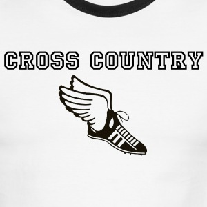 Cross Country Runner - Men's Ringer T-Shirt