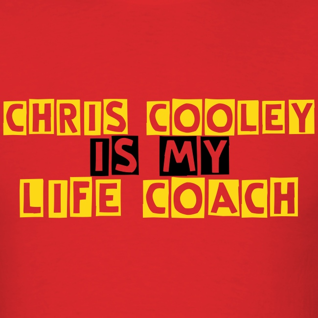 Chris Cooley is my Life Coach