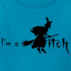 Orange I'M A WITCH Kids' Shirts - Kids' T-Shirt