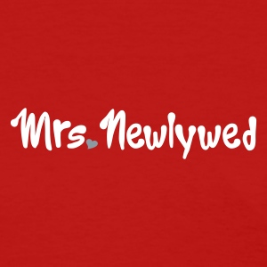 Red Mrs Newlywed Women's T-Shirts - Women's T-Shirt
