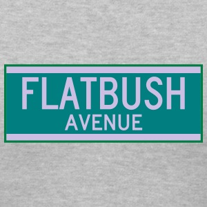 Flatbush Avenue Sign - Women's V-Neck T-Shirt