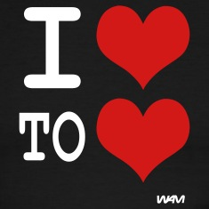 i love to love by wam T-shirts (manches courtes)