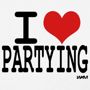 i love partying by wam T-shirts (manches courtes) - T-shirt pour femmes