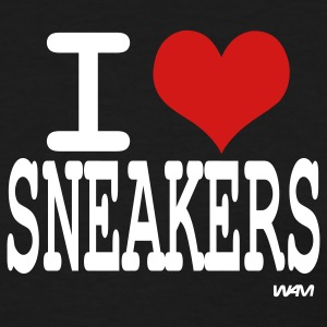 Black i love sneakers by wam Women's T-Shirts - Women's T-Shirt