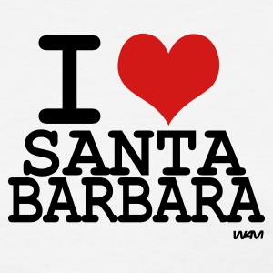 White i love santa barbara  by wam Women's T-Shirts - Women's T-Shirt