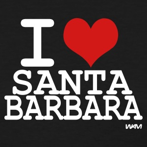 Black i love santa barbara  by wam Women's T-Shirts - Women's T-Shirt