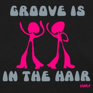 Black groove is in the hair by wam Women's T-Shirts - Women's T-Shirt