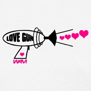 White love gun by wam Women's T-Shirts - Women's T-Shirt
