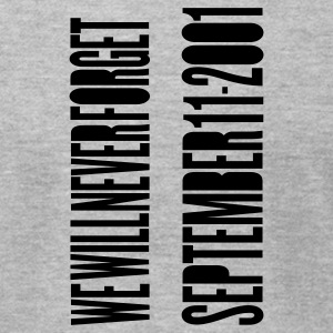 Heather grey TWIN TOWERS - SEPTEMBER 11 ATTACKS T-Shirts - Men's T-Shirt by American Apparel