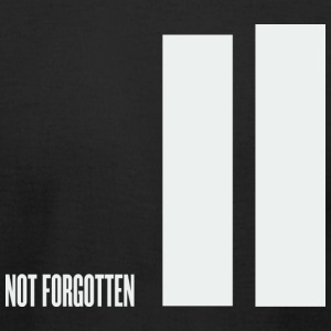 Black september 11 - not forgotten - twin towers T-Shirts - Men's T-Shirt by American Apparel