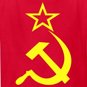 Soviet Hammer & Sickle - Kids' T-Shirt