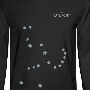 Black astronomy_orion Long Sleeve Shirts - Men's Long Sleeve T-Shirt