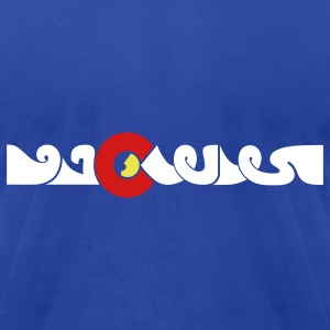 Colorado in Arabic t-shirt - Men's T-Shirt by American Apparel