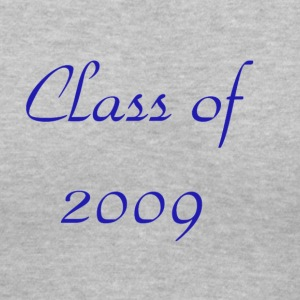 Gray Class of 2009 Women's T-Shirts - Women's V-Neck T-Shirt