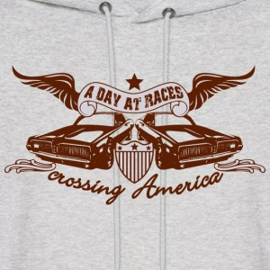 Ash  Racing Cars Hoodies - Men's Hoodie