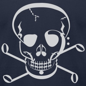 Music Jolly Roger T-Shirts - Men's T-Shirt by American Apparel