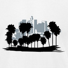 White Los Angeles T-Shirts