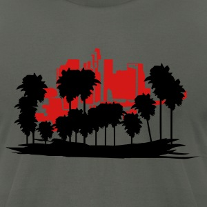 Asphalt Los Angeles T-Shirts - Men's T-Shirt by American Apparel