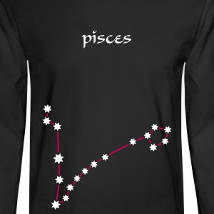 Black astronomy_pisces_2 Long Sleeve Shirts - Men's Long Sleeve T-Shirt