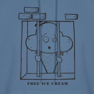 Green Free Ice Cream! Hoodies - Men's Hoodie