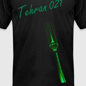 Tehran 021 AA - Men's T-Shirt by American Apparel