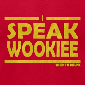 Brown wookie T-Shirts - Men's T-Shirt by American Apparel