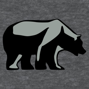 Deep heather bear_2c Women's T-Shirts - Women's T-Shirt