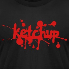 Black ketchup T-Shirts