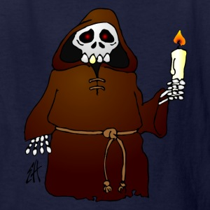 Skeleton monk - Kids' T-Shirt