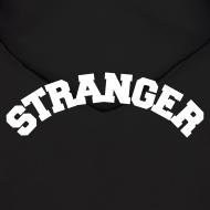 Design ~ STRANGER mens hoodie - design on BACK