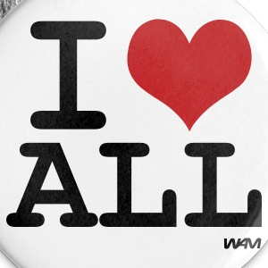I love all by wam Badges - Badge grand 56mm