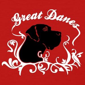 Red Great Danes 3c Women's T-Shirts - Women's T-Shirt