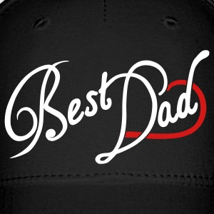 Black Best Dad Caps - Baseball Cap