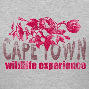 Gray cape town Women's T-Shirts - Women's V-Neck T-Shirt