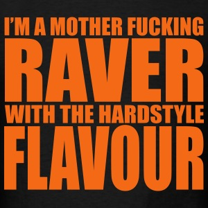 Black Raver T-Shirts - Men's T-Shirt