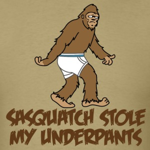 Sasquatch stole my undies!!! - Men's T-Shirt