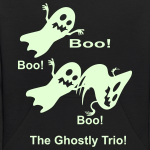 Black the_ghostly_trio Sweatshirts - Kids' Hoodie