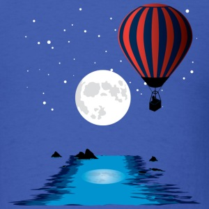 Royal blue Hot Air Balloon T-Shirts - Men's T-Shirt