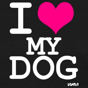 Black i love my dog by wam Women's T-Shirts - Women's T-Shirt