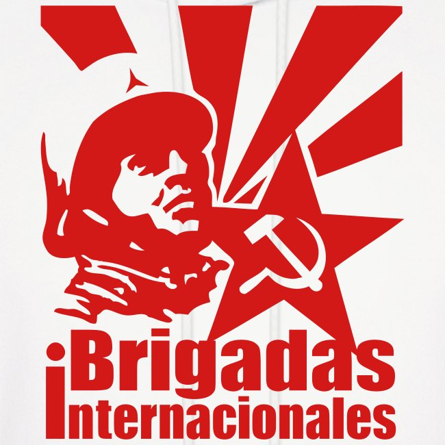 Spanish Civil War International Brigades Hoodie