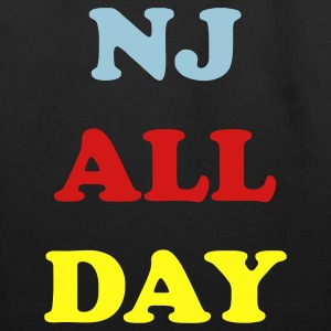 Black nj_all_day_3_colors Bags  - Eco-Friendly Cotton Tote