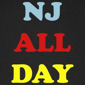 Black nj_all_day_3_colors Caps - Baseball Cap