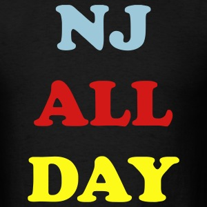 Black nj_all_day_3_colors T-Shirts - Men's T-Shirt