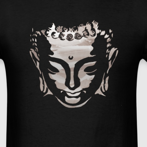 Buddha Head - Men's T-Shirt